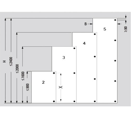 1450 Hinge Arms For Glass Showcase Doors The Wholesale