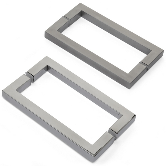 5070 Shower Door Handle 19 X 19mm Square Tube The