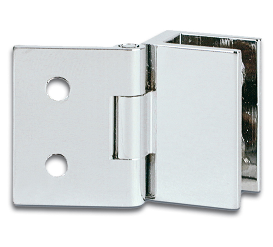 Cabinet Glass To Wall Hinge For Inset Doors 19 X 25mm The