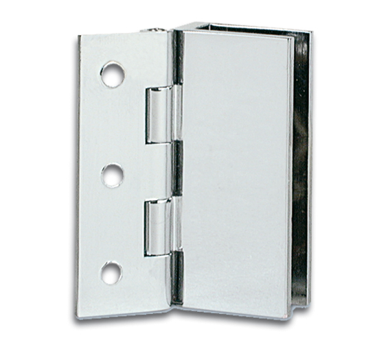 Cabinet Glass To Wall Hinge For Inset Doors 32 X 60mm The