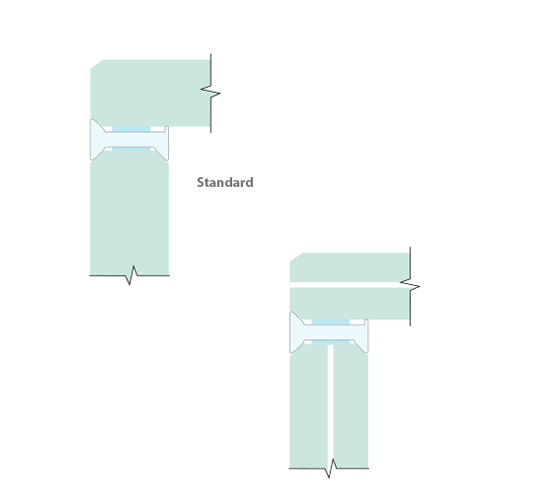 Glass To Glass Partition Minimal Corner Joint The