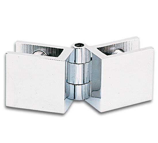 Cabinet Glass To Glass Inset Door Hinge 57 X 25mm The