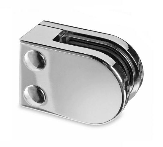 Model 22 Round Balustrade Glass Clamp In 316 Grade