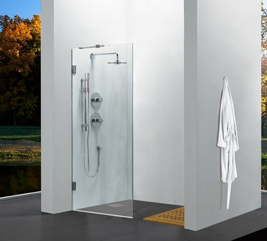 Aluminium U Channel For 10mm Glass Shower Screens The
