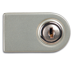 1950 Glass Cabinet Door Lock with Closing Cylinder