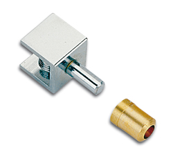 Inset Glass Cabinet Door Pivot Hinges Non Drill